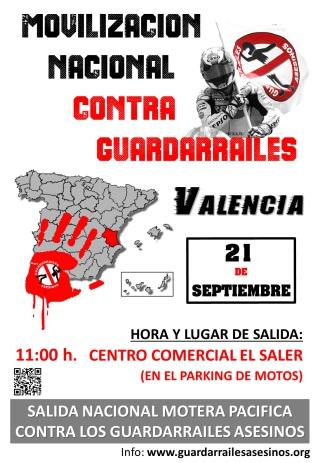 Guardarrailes Asesinos Valencia